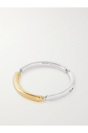 Le Gramme 3g Polished Sterling and 18-Karat Gold Ring