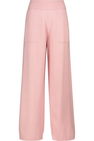 Barrie Pantaloni in cashmere