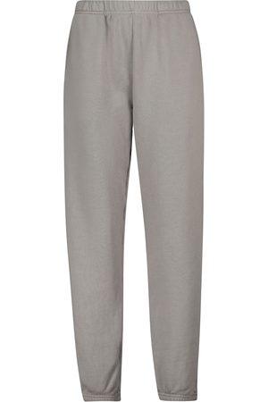 Les Tien Donna Pantaloni sportivi - Pantaloni sportivi in cotone con coulisse