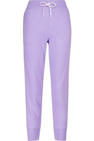 Polo Ralph Lauren Donna Pantaloni sportivi - Pantaloni sportivi in jersey misto cotone
