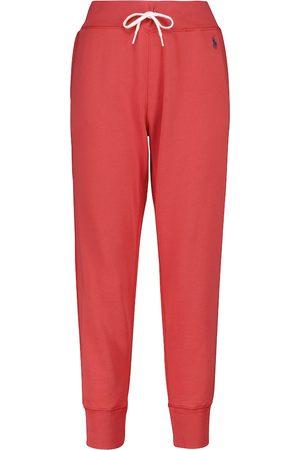 Polo Ralph Lauren Pantaloni sportivi in pile misto cotone