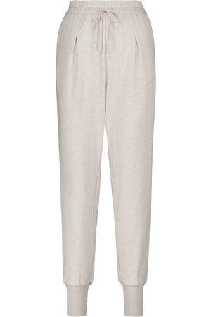 Varley Donna Stretch - Pantaloni sportivi Keswick in cotone stretch