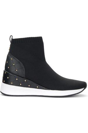 Michael Kors Sneaker Skyler in tessuto con borchie