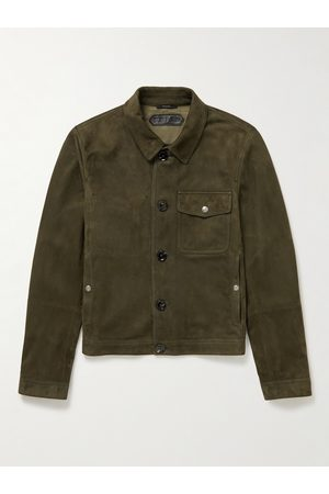 Tom Ford Uomo Giacche di pelle - Suede Overshirt