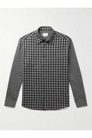 Dunhill Uomo Casual - Checked Cotton-Poplin Shirt
