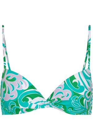 Emilio Pucci Top bikini con stampa