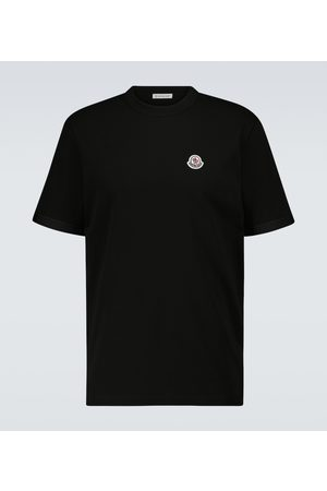 Moncler T-shirt in cotone con logo