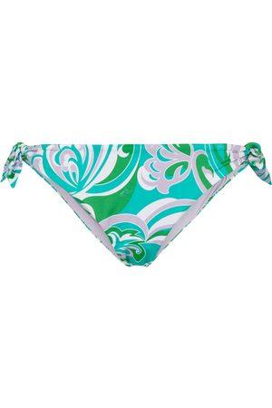Emilio Pucci Slip bikini con stampa