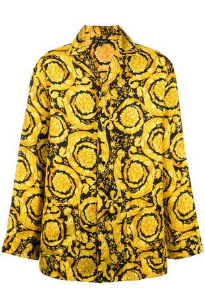 VERSACE Camicia Barocco con stampa