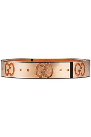 Gucci Anello a fascia sottile Icon in oro 18kt