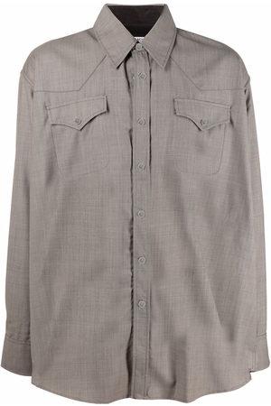 OUR LEGACY Uomo Camicie a maniche lunghe - Camicia a maniche lunghe