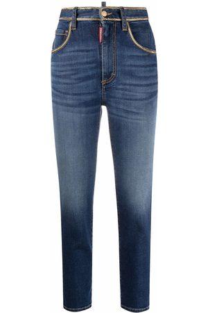 Dsquared2 Donna Jeans a vita alta - Jeans a vita alta crop