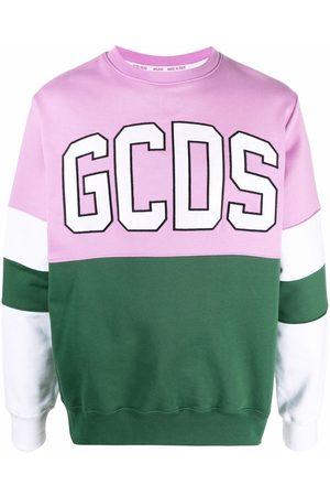 GCDS Uomo Felpe - Felpa con design color-block