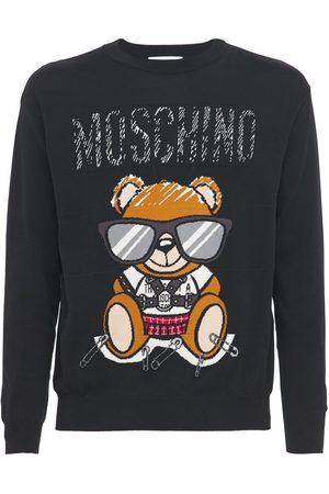 "Moschino Felpa ""teddy"" In Cotone"