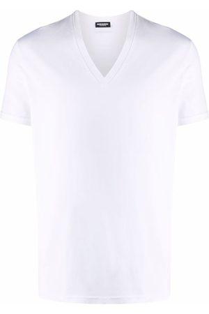 Dsquared2 Uomo Magliette intime - T-shirt con scollo a V