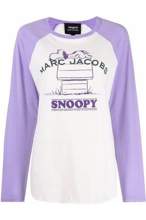 Marc Jacobs Donna T-shirt - T-shirt Rest of My Life x Peanuts - Toni neutri