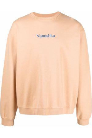 Nanushka Uomo Felpe - Felpa con stampa