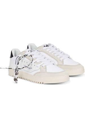 OFF-WHITE Sneakers Vulcanized in pelle e suede