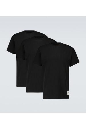 Jil Sander Set di 3 T-shirt in cotone