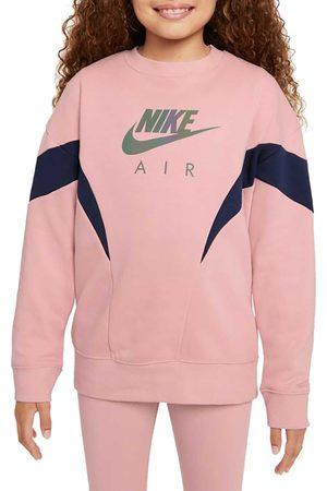 Nike Bambina Felpe - FELPA GIRO AIR GARZATA BAMBINA