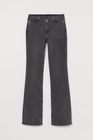 H&M Flared Low Waist Jeans