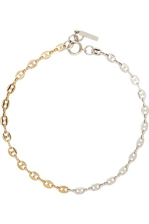 Justine Clenquet Silver & Gold Joy Necklace