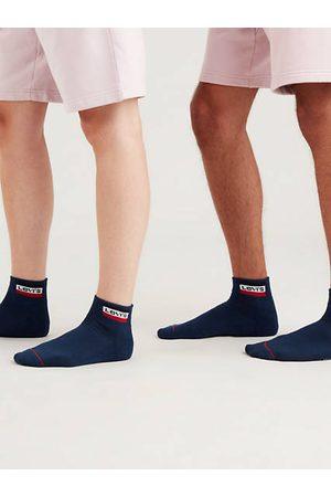 Levi's Mid Cut Sportswear Socks 2 Pack / Dress Blues