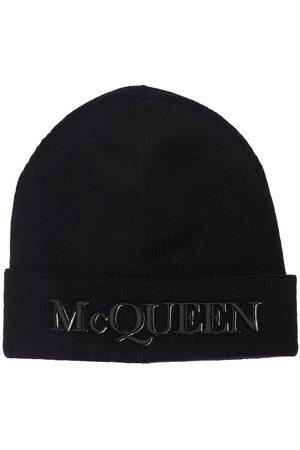 Alexander McQueen Cappello Beanie In Lana E Cashmere