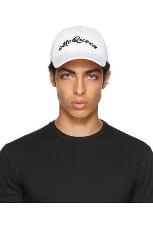 Alexander McQueen White & Multicolor Baseball Cap