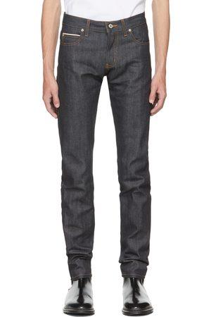Naked & Famous Denim Uomo Jeans - Indigo Left Hand Twill Jeans