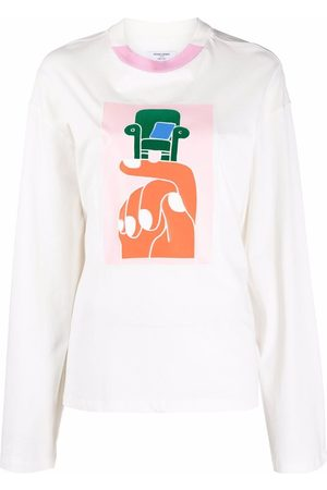 Opening Ceremony Donna T-shirt a maniche lunghe - T-shirt a maniche lunghe