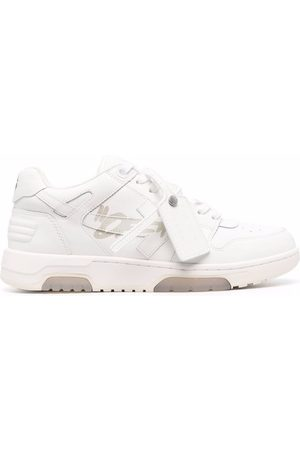 """OFF-WHITE Uomo Sneakers - OUT OF OFFICE """"SPECIALS"""" CALF WHITE WHIT"""