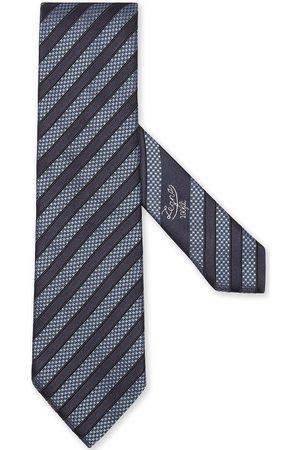 Ermenegildo Zegna Uomo Papillon - Cravatta a righe diagonali