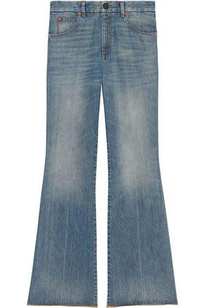 Gucci Jeans con effetto schiarito