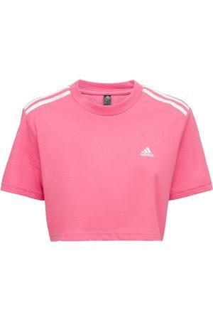 ADIDAS PERFORMANCE T-shirt Cropped
