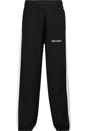 Palm Angels Pantaloni sportivi in jersey di cotone