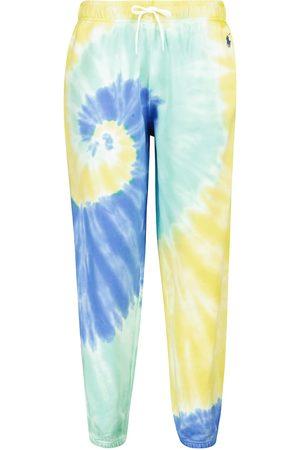 Polo Ralph Lauren Donna Pantaloni sportivi - Pantaloni sportivi tie-dye in cotone