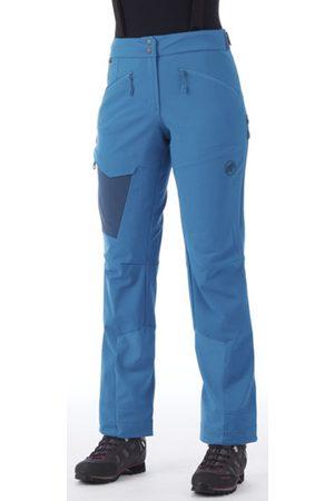Mammut Base Jump SO - pantaloni softshell sci alpinismo - donna