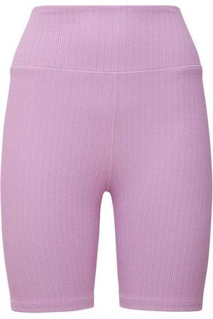 """THE UPSIDE Donna Pantaloni sportivi - Pantaloni Midi """"lilac"""" Jacquard"""