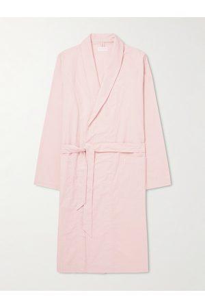 Hamilton and Hare Pinstriped Cotton Robe