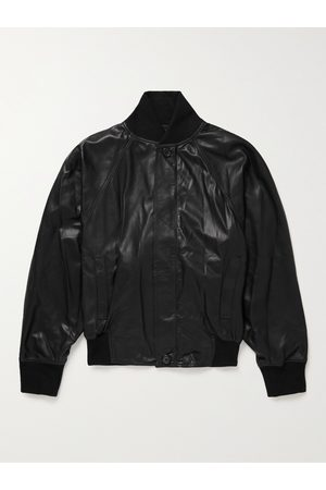 FEAR OF GOD Leather Bomber Jacket