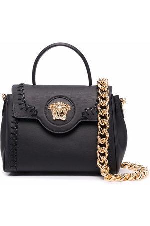 Versace Donna Shopper e tote - Borsa tote Medusa con applicazione