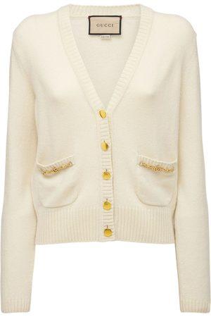Gucci Donna Cardigan - Cashmere Knit Cardigan W/ Horsebit