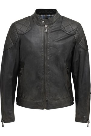 """Belstaff Giacca """"outlaw"""" In Pelle Cerata"""