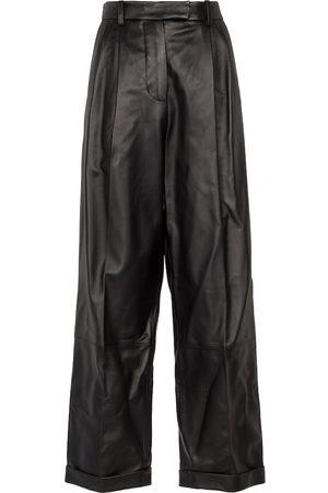 Marni Donna Di pelle - Pantaloni in pelle a vita alta