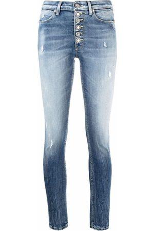 Dondup Jeans skinny con effetto schiarito