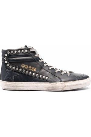 Golden Goose Uomo Sneakers - Sneakers alte con effetto vissuto