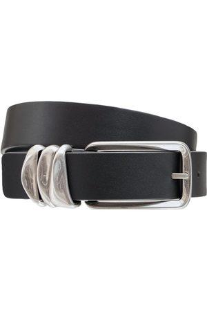 Bottega Veneta Cintura In Pelle 2.5cm