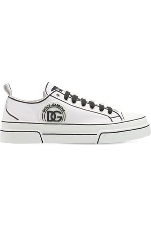 "Dolce & Gabbana Sneakers ""portofino"" In Tela Leggera"