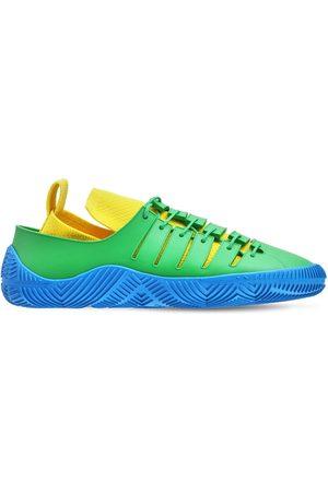 Bottega Veneta Sneakers In Techno Maglia E Gomma